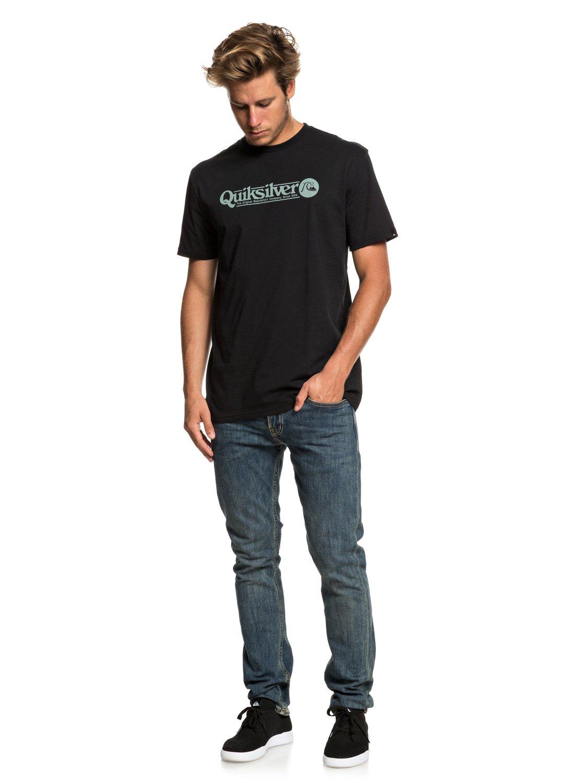 Quiksilver-Art-Tickle-Camiseta-para-Hombre-EQYZT05259 miniatura 14