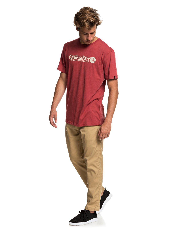 Quiksilver-Art-Tickle-Camiseta-para-Hombre-EQYZT05259 miniatura 18