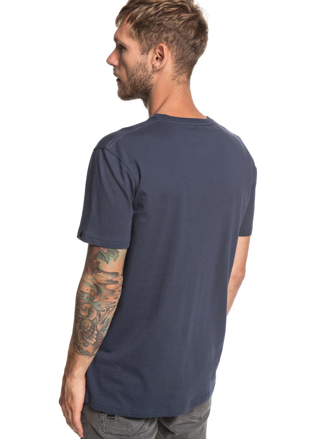 6376eac909b 2 M And W - T-Shirt for Men Blue EQYZT05262 Quiksilver
