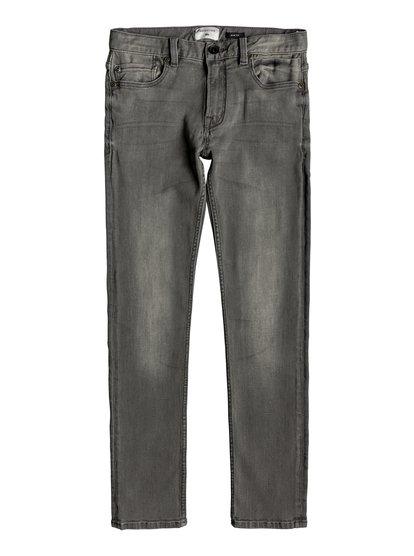 Distorsion Stone Grey - Slim Fit Jeans for Boys 8-16  EQBDP03156