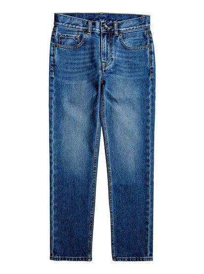 Revolver Medium Blue - Straight Fit Jeans  EQBDP03158