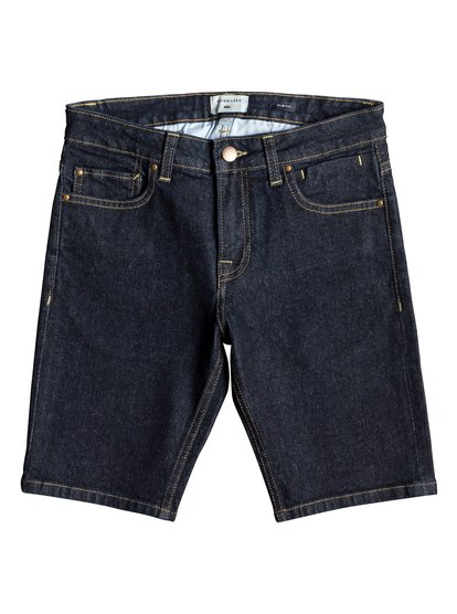 Distorsion Rinse - Denim Shorts for Boys 8-16  EQBDS03057
