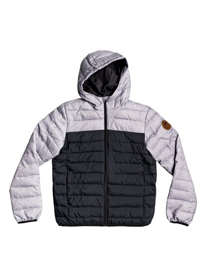 Scaly Mix - Hooded Puffer Jacket  EQBJK03177