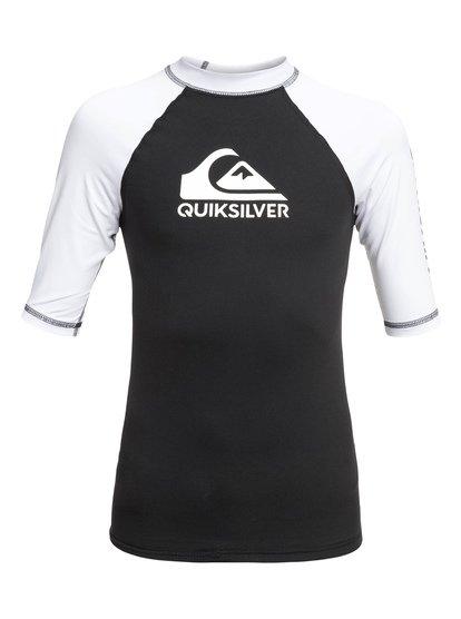 On Tour - Short Sleeve UPF 50 Rash Vest for Boys 8-16  EQBWR03079