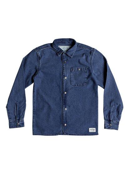 Yoko Meshi - Long Sleeve Denim Shirt for Boys 8-16  EQBWT03220