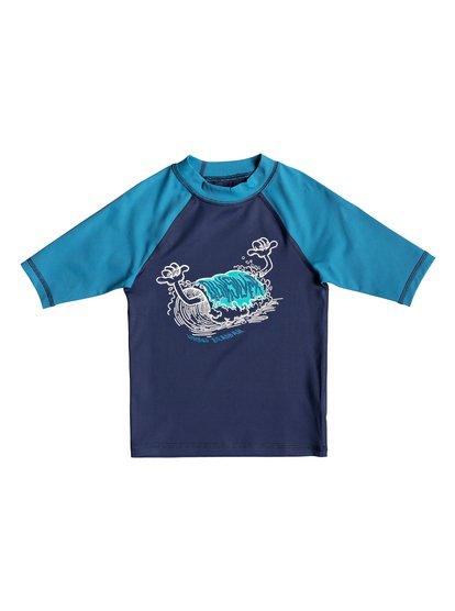 Bubble Dreams - Short Sleeve UPF 50 Rash Vest for Boys 2-7  EQKWR03051