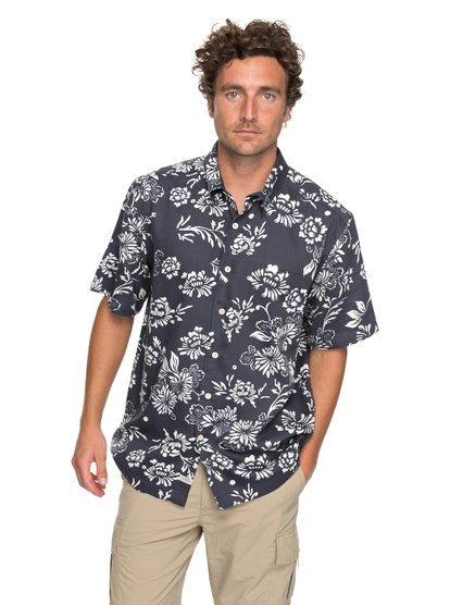 Waterman Omfloral - Short Sleeve Shirt for Men  EQMWT03112