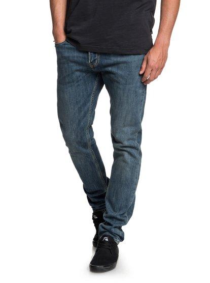 Distorsion Medium Blue - Slim Fit Jeans for Men  EQYDP03374