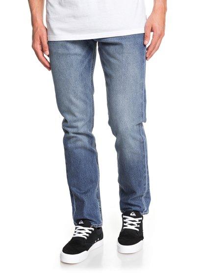 Revolver Medium Blue - Straight Fit Jeans  EQYDP03404