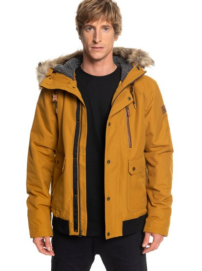 Arris - Waterproof Hooded Bomber Jacket for Men  EQYJK03411