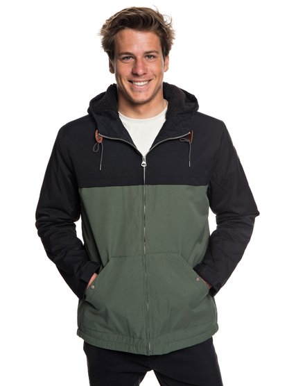 Wanna - Water-Resistant Hooded Parka for Men  EQYJK03434