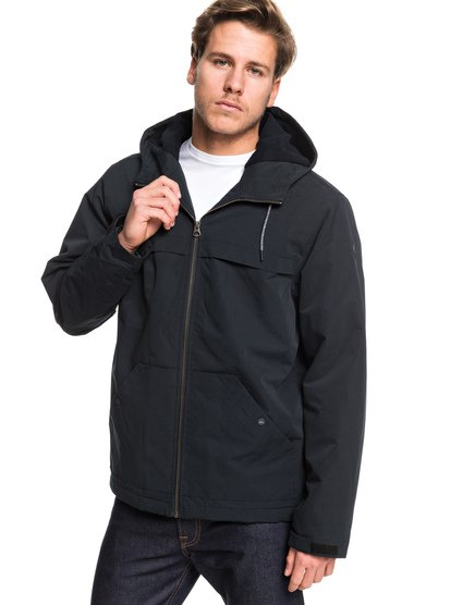 Waiting Period - Hooded Water-Resistant Parka  EQYJK03513