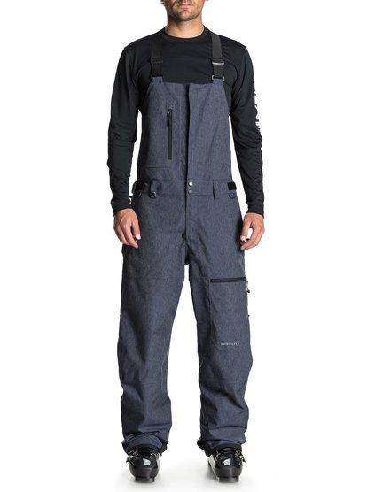 0 Сноубордические штаны Stratus Синий EQYTP03091 Quiksilver