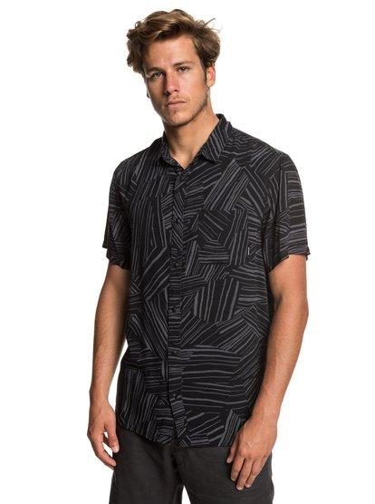 Fluid Geometric - Short Sleeve Shirt for Men  EQYWT03798