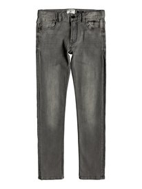 Distorsion Stone Grey - Slim Fit Jeans for Boys 8-16  EQBDP03156