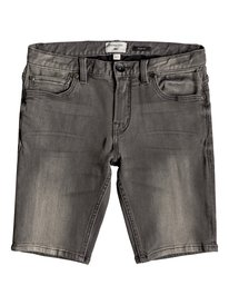 26a55eb03e7dd Distorsion Stone Grey - Denim Shorts for Boys 8-16 EQBDS03056