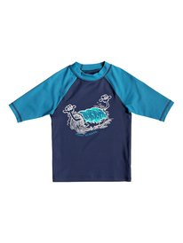 Bubble Dreams - Short Sleeve UPF 50 Rash Vest for Boys 2-7  EQKWR03051