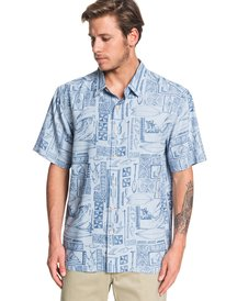76200826885 ... Waterman Vaianae Bay - Short Sleeve Shirt EQMWT03264 ...