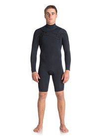 00ce83905cd 2 2mm Quiksilver Originals Monochrome - Chest Zip Long Sleeve Springsuit  for Men EQYW403008