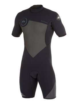 Syncro Flatlock 2/2mm - Back Zip Short Sleeve Springsuit  AQYW503005