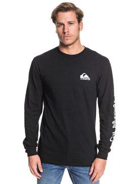 Omni Logo - Long Sleeve T-Shirt for Men  AQYZT06226