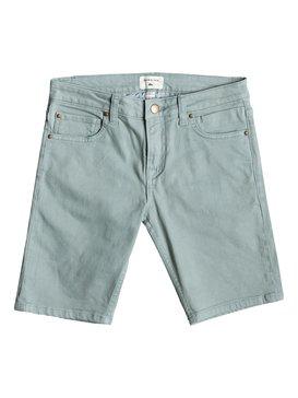 Distorsion Colours - Denim Shorts for Boys 8-16  EQBDS03058