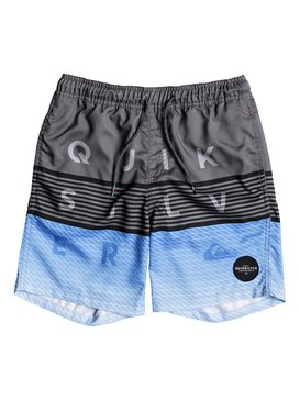 "Word Block 15"" - Swim Shorts for Boys 8-16  EQBJV03136"