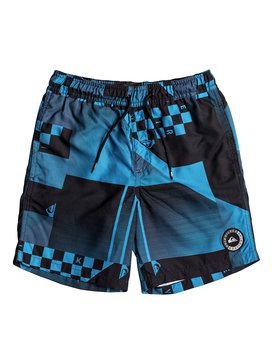 "Checker 15"" - Swim Shorts for Boys 8-16  EQBJV03142"