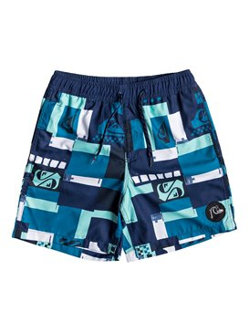 "City Block 15"" - Swim Shorts for Boys 8-16  EQBJV03198"