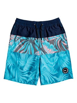 "Multiply 17"" - Swim Shorts for Boys 8-16  EQBJV03234"