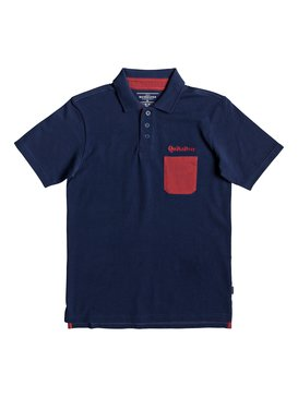 Good Ad Vice - Short Sleeve Polo Shirt for Boys 8-16  EQBKT03217
