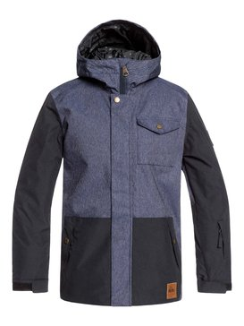 Ridge - Snow Jacket for Boys 8-16  EQBTJ03091