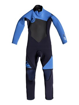Syncro 3/2mm - Back Zip Full Wetsuit  EQBW103018