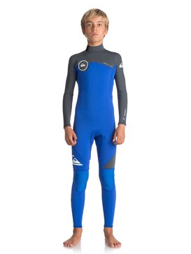 3/2mm Syncro Series - Back Zip Wetsuit for Boys 8-16  EQBW103022