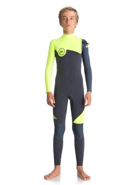4/3mm Highline Series - Zipperless Wetsuit for Boys 8-16  EQBW103033