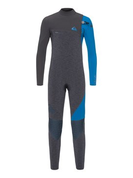 4/3mm Highline Series - Zipperless Wetsuit for Boys 8-16  EQBW103035