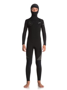 5/4/3mm Syncro Series - Hooded Chest Zip GBS Wetsuit for Boys 8-16  EQBW203001