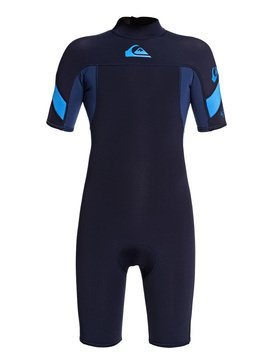 2/2mm Syncro - Short Sleeve Back Zip FLT Springsuit for Boys 8-16  EQBW503010