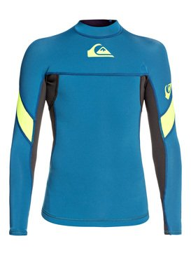 1mm Syncro - Long Sleeve Neoprene Surf Top for Boys 8-16  EQBW803006