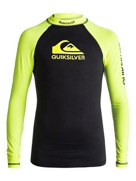On Tours - Long Sleeve UPF 50 Rash Vest for Boys 8-16  EQBWR03040