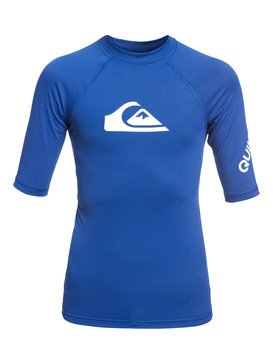 All Time - Short Sleeve UPF 50 Rash Vest for Boys 8-16  EQBWR03074