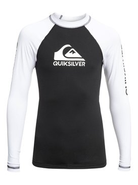 On Tour - Long Sleeve UPF 50 Rash Vest for Boys 8-16  EQBWR03078