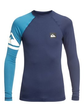 Active - Long Sleeve UPF 50 Rash Vest for Boys 8-16  EQBWR03081