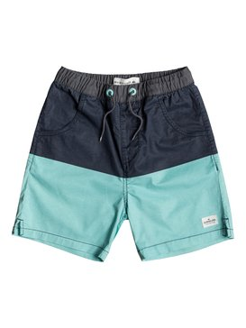Yellow Daze - Elasticated Shorts for Boys 8-16  EQBWS03270