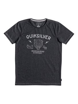 Heather Oldcat Vibes - T-Shirt for Boys 8-16  EQBZT03694