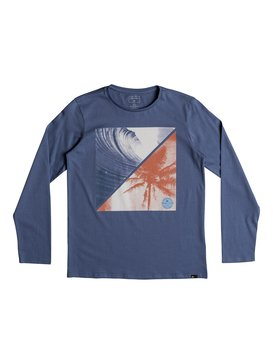 Colourful Night - Long Sleeve T-Shirt for Boys 8-16  EQBZT03808
