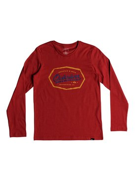 Living On The Edge - Long Sleeve T-Shirt for Boys 8-16  EQBZT03839