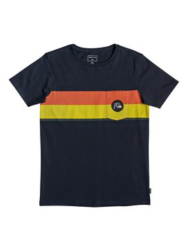 Multiply Stripe - Pocket T-Shirt  EQBZT04013