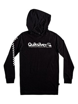 Checkers Mate - Long Sleeve Hooded T-Shirt  EQBZT04023