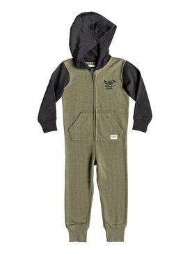 Minoo - Hooded Zip-Up Onesie for Boys 2-7  EQKFT03257